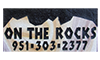 On the Rocks Engraving Logo