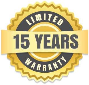 15-year Artificial Turf Warranty