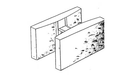 Concrete Block Precision 10x8x16 Double Open End Bond Beam