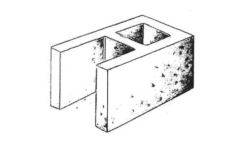 Concrete Block Precision 10x8x16 Open End Standard