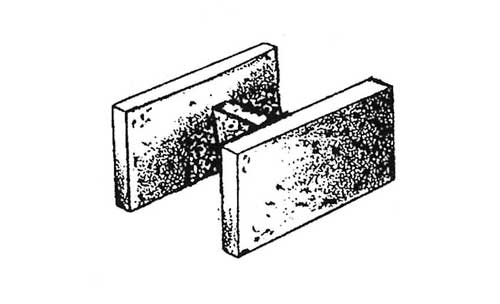 Concrete Block Precision 12x8x16 Double Open End Bond Beam