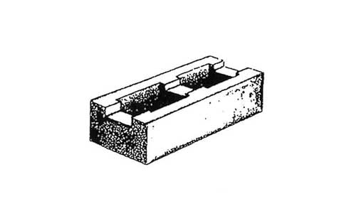 Concrete Block Precision 6x4x16 Bond Beam