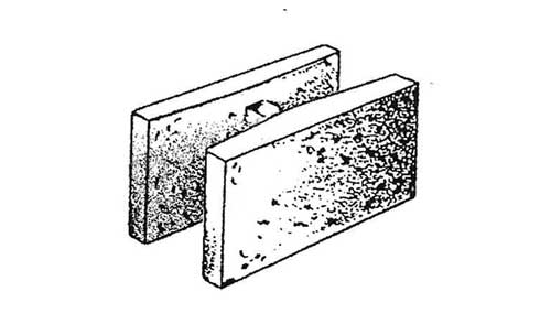 Concrete Block Precision 6x8x16 Double Open End Bond Beam