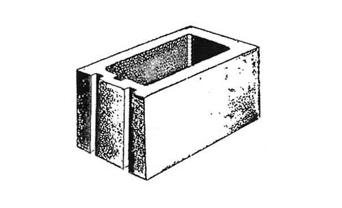 Concrete Block Precision 8x8x16 No Center Web