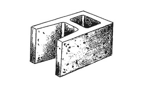 Concrete Block Precision 8x8x16 Open End Standard