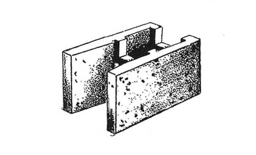 Concrete Block Precision 8x8x16 Open End Bond Beam