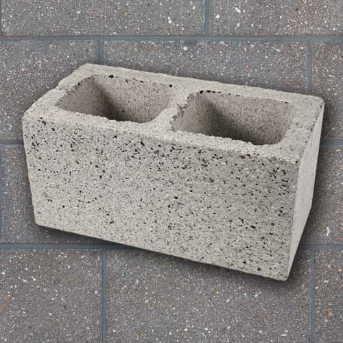 Shotblast Concrete Block CMU