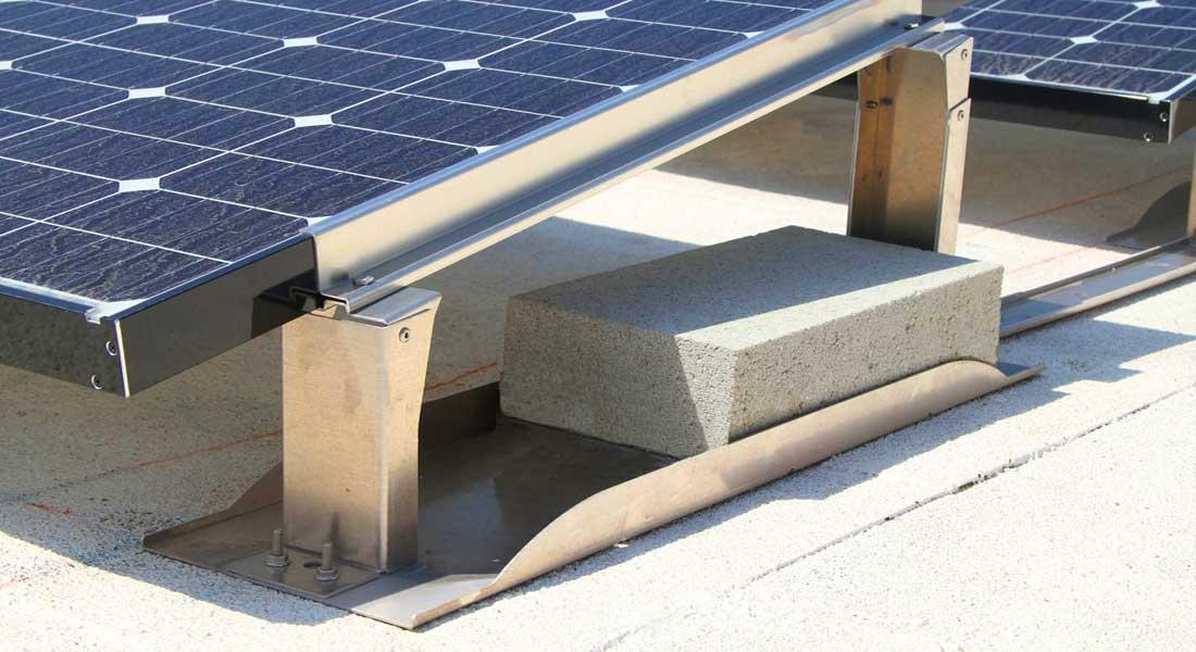 Solar Panel Ballast Block 4x8x16 Rcp Block Amp Brick