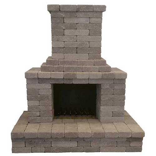 Semplice Outdoor Fireplace Kit
