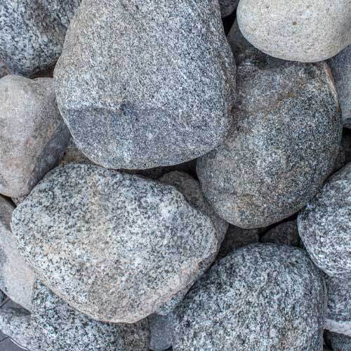 White Water Cobble Small Landscaping Rocks