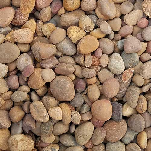 Sienna Small Decorative Ground Cover Rock