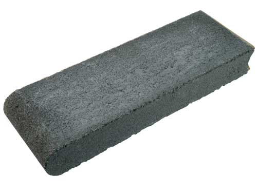 Charcoal Bullnose Concrete Paver