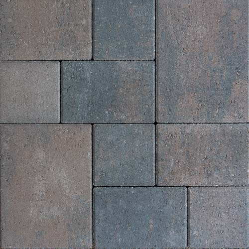 Catalan Charcoal Brown Concrete Pavers