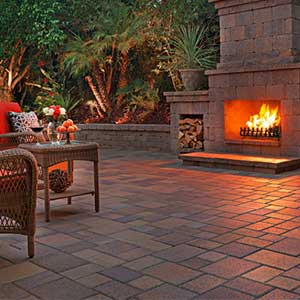 Courtyard Concrete Pavers Rcp Block Amp Brick