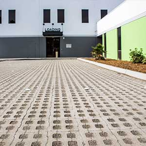 HydroGrid Permeable Interlocking Concrete Pavers