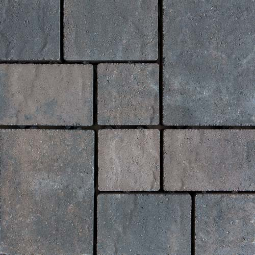 Hydrologic Permeable Concrete Pavers Charcoal Brown