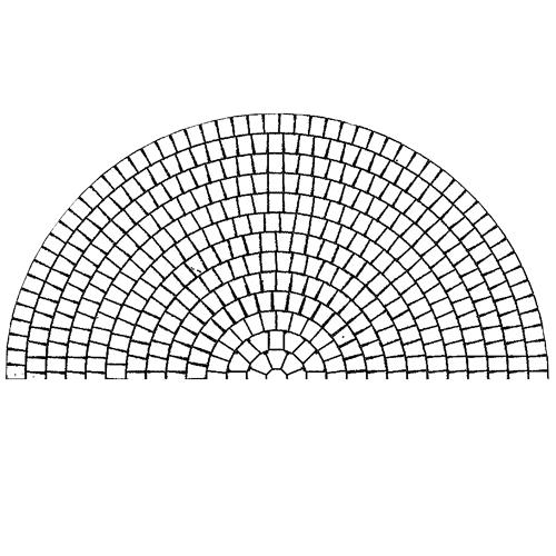 Concrete Paver Circle Pattern - RCP Block & Brick
