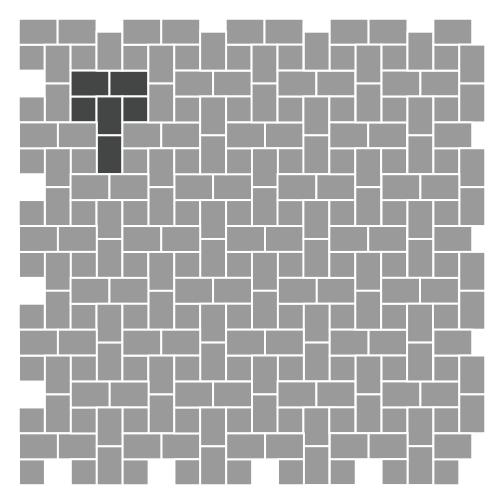 Stonetop Tumbled Concrete Pavers RCP Block Brick Enchanting Pavers Patterns