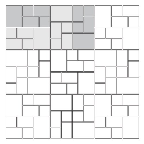 Modified Basketweave Paver Pattern
