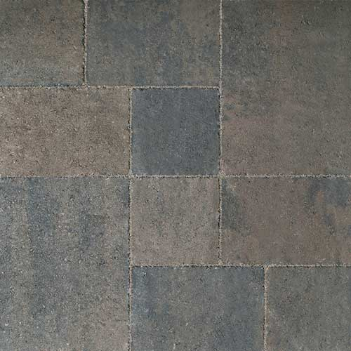 Piatto Charcoal Brown Concrete Pavers