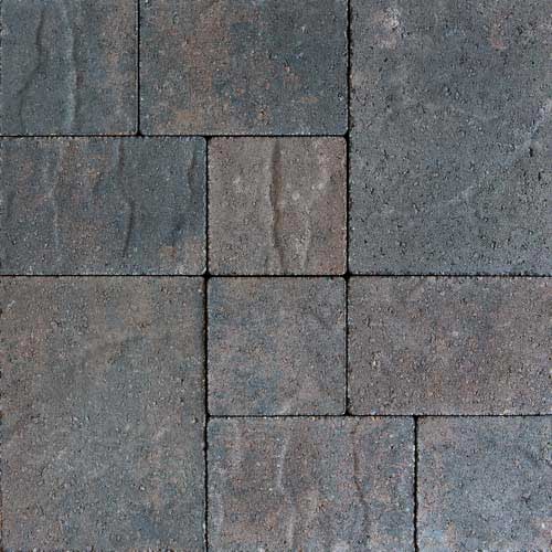 Stonetop Charcoal Brown Concrete Pavers