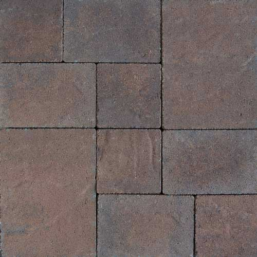 Stonetop Terra Cotta Brown Concrete Pavers