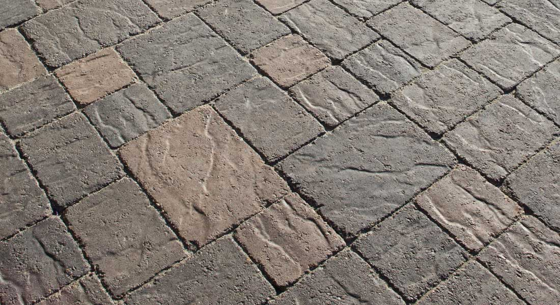 Stonetop Tumbled Interlocking Concrete Pavers