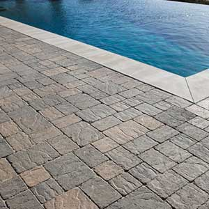 Stonetop Tumbled Concrete Pavers