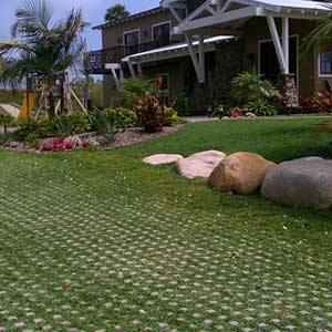 Turf Block Driveable Grass Concrete Pavers