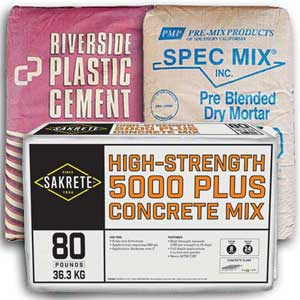 Concrete Cement and Mortar