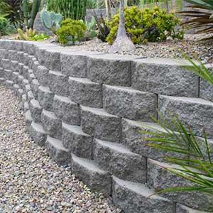 Retaining Wall Blocks Rcp Block Amp Brick