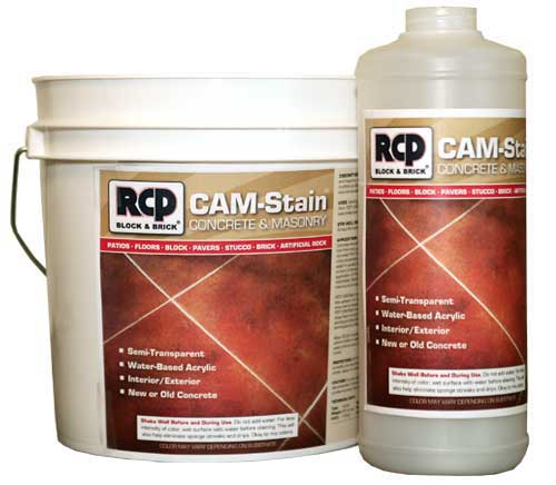 CAM Stain Concrete and Masonry Stain