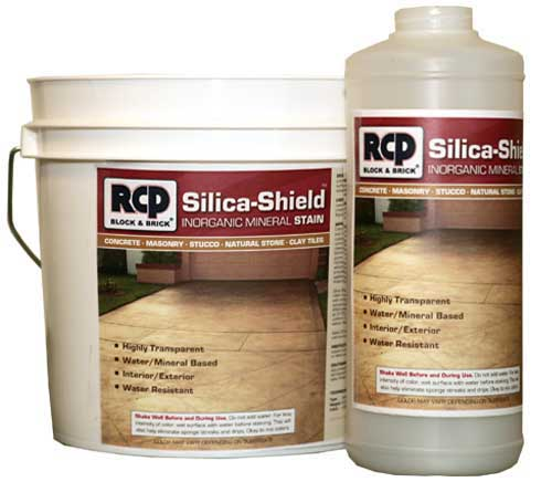 Silica Shield Concrete and Masonry Stain