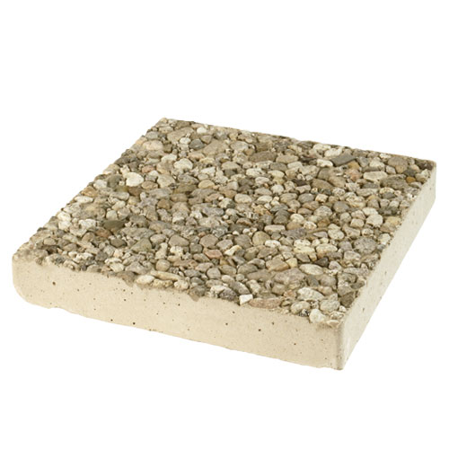 Square Aggregate Stepping Stone Natural