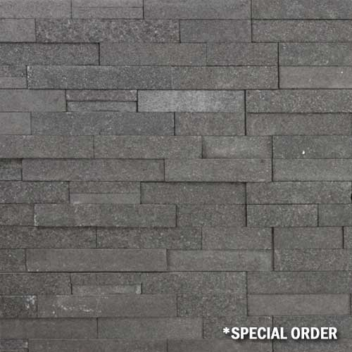 Stone Veneer Panels Absolute Black Flamed