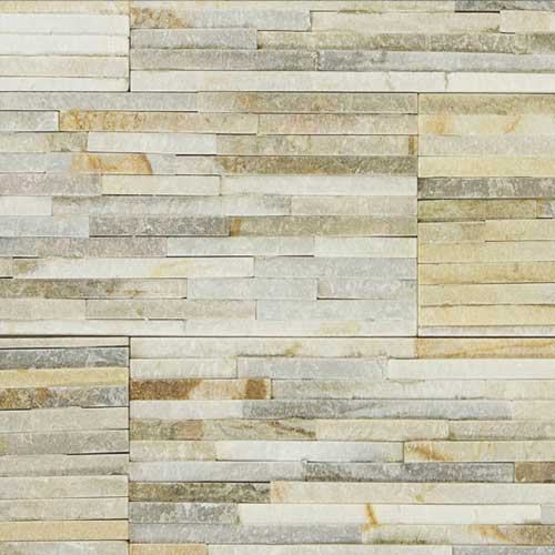 Stone Veneer Panels Desert Gold Waterfall