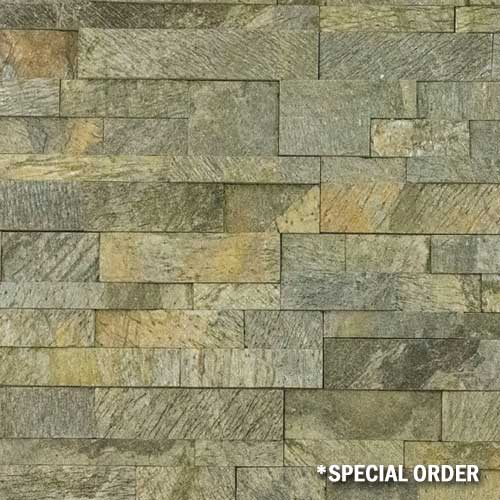 Stone Veneer Panels Gold Green Natural