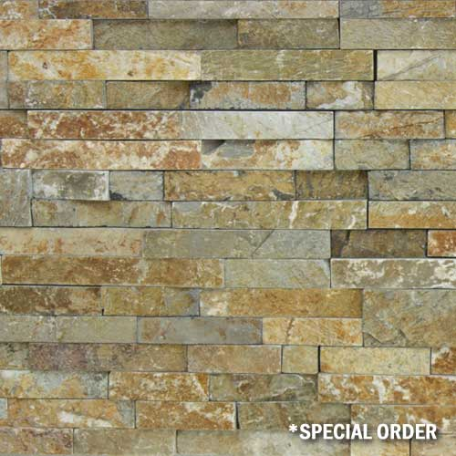 Stone Veneer Panels Honey Gold Natural