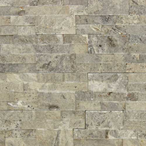 Stone Veneer Panels Silver Travertine