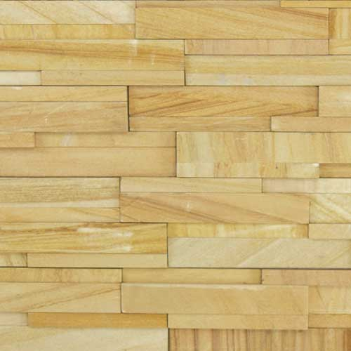 Stone Veneer Panels Teakwood Honed