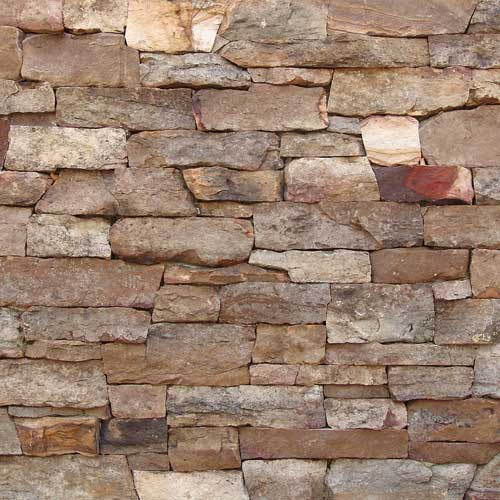 Thin Stone Veneer Weathered Fieldstone Ledge