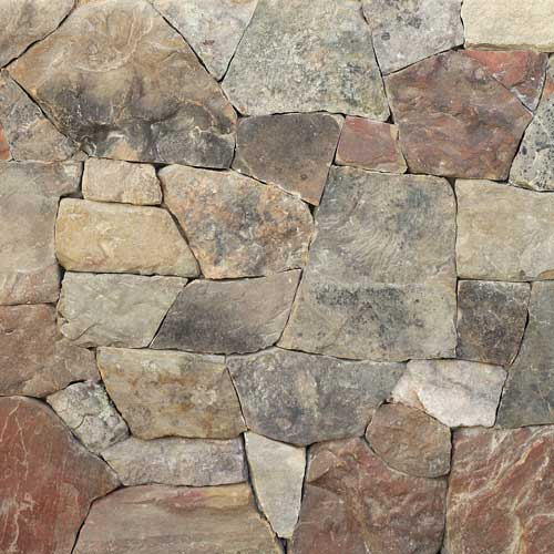 Thin Stone Veneer Weathered Fieldstone Webwall