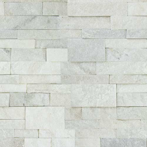 Stone Veneer Panels White Quartzite Natural