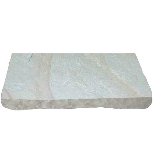 Antique Buff Natural Stone Wall Cap