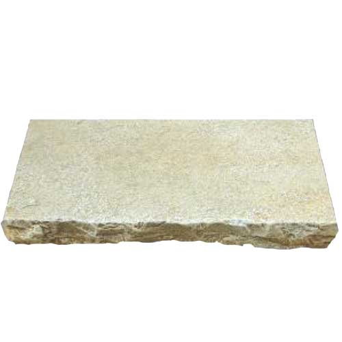 Antique Yellow Natural Stone Wall Cap