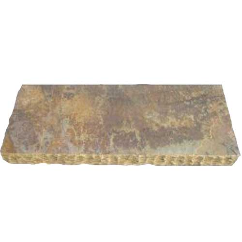 California Gold Natural Stone Wall Cap