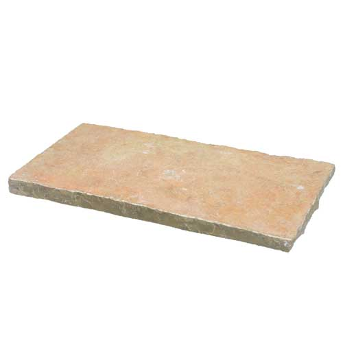 French Vanilla Natural Stone Wall Cap