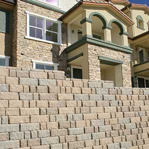 Keystone California Chateau Retaining Wall Blocks