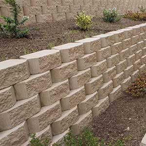 Bella Vista Citadel Retaining Wall Blocks