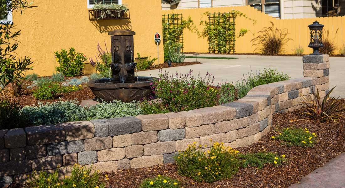 Keystone Retaining Wall Blocks Country Cottage Rcp Block Brick